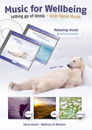 Plakat Music for Wellbeing